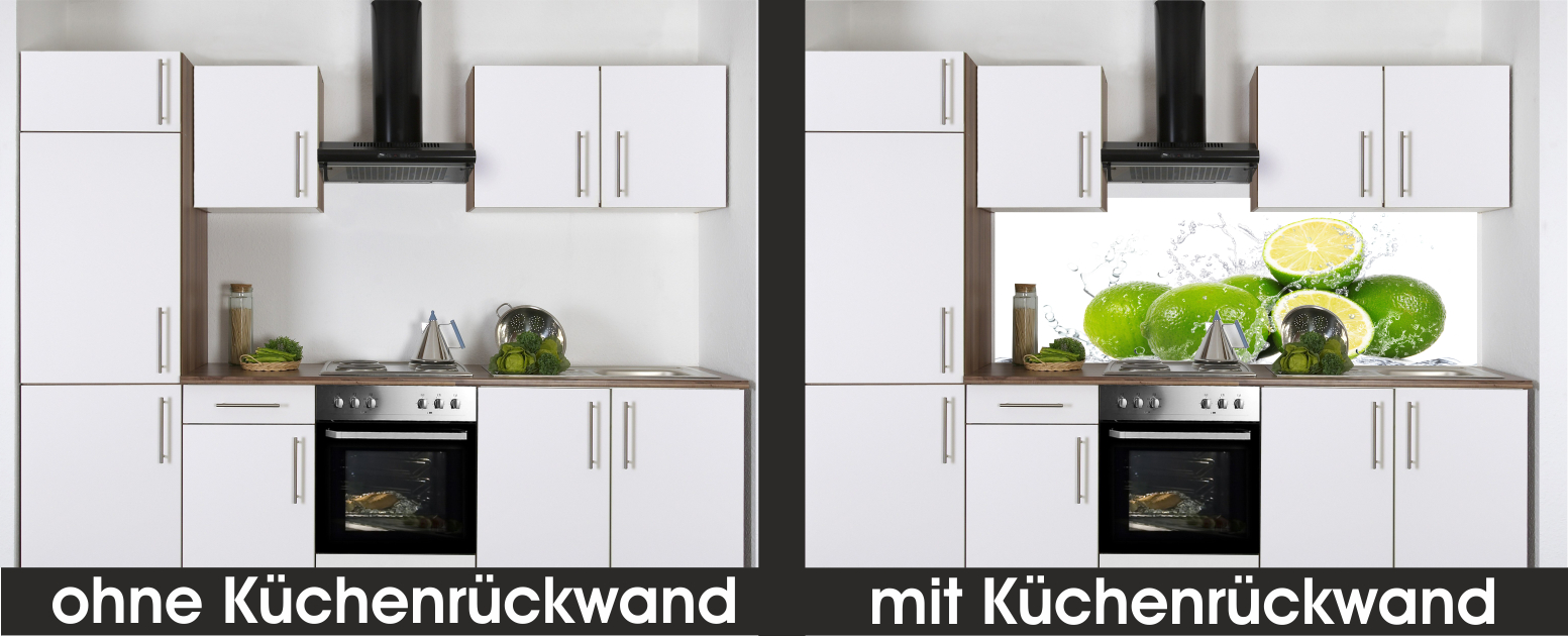 r ckwand k che glas hausgestaltung ideen. Black Bedroom Furniture Sets. Home Design Ideas